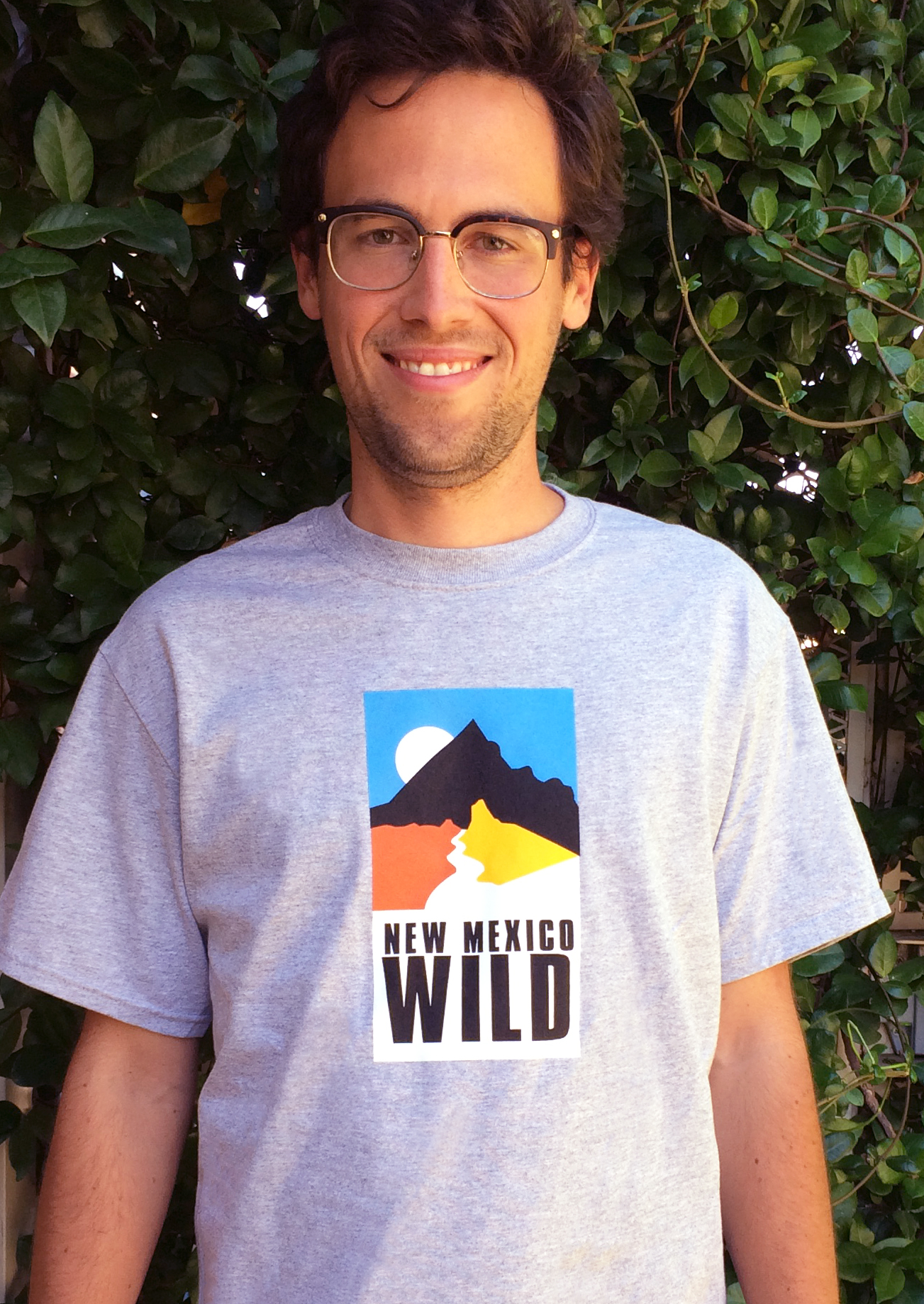 Andrew in NM Wild shirt