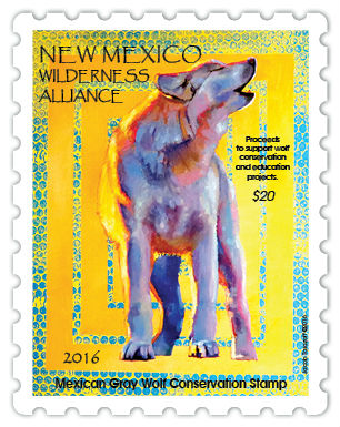 wolf stamp sample for newsletter